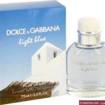 Dolce and Gabbana's Light Blue
