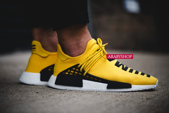 10. Yellow Originals NMD Pharrell Human Race – $1,606