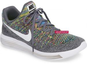 5. Nike 'Flyknit 2 LunarEpic' Running Shoes in Multi-Color