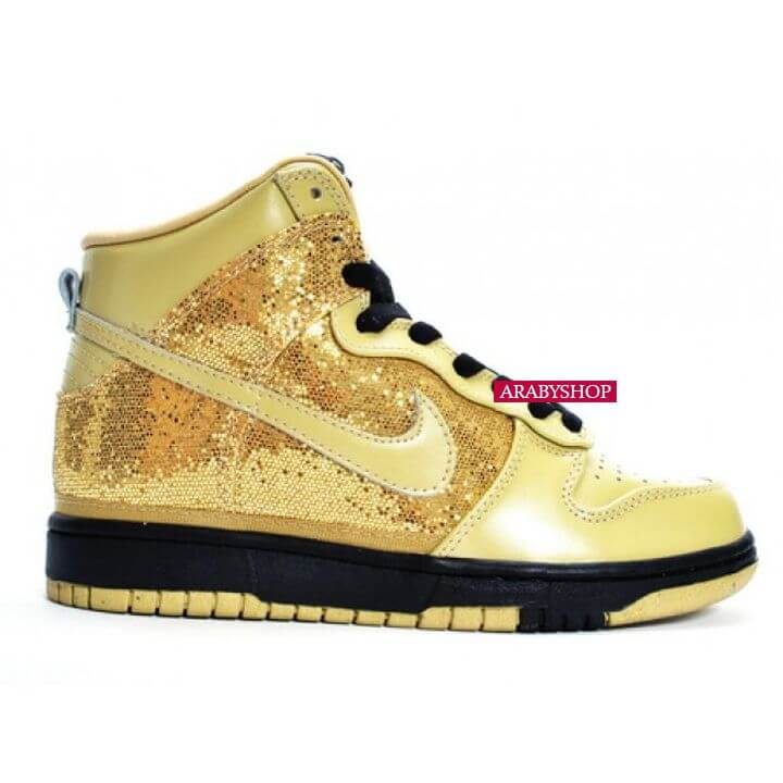 7- Nike gold high dunks - Price $5,400