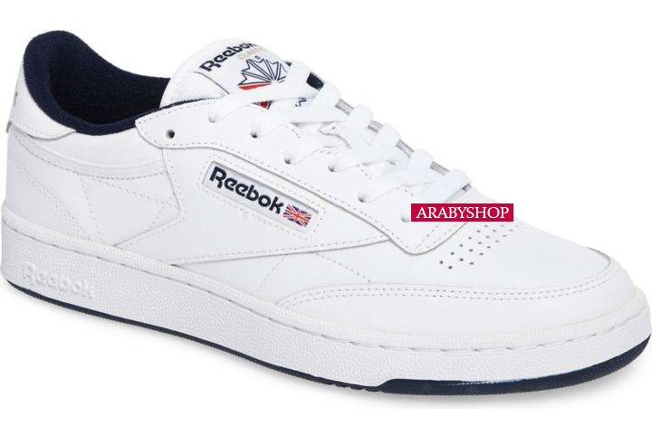 8. Classic Reebok 'Club C 85' Sneakers in White